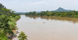 Les rives du fleuve Kinabatangan, Bornéo © CC Wikipedia
