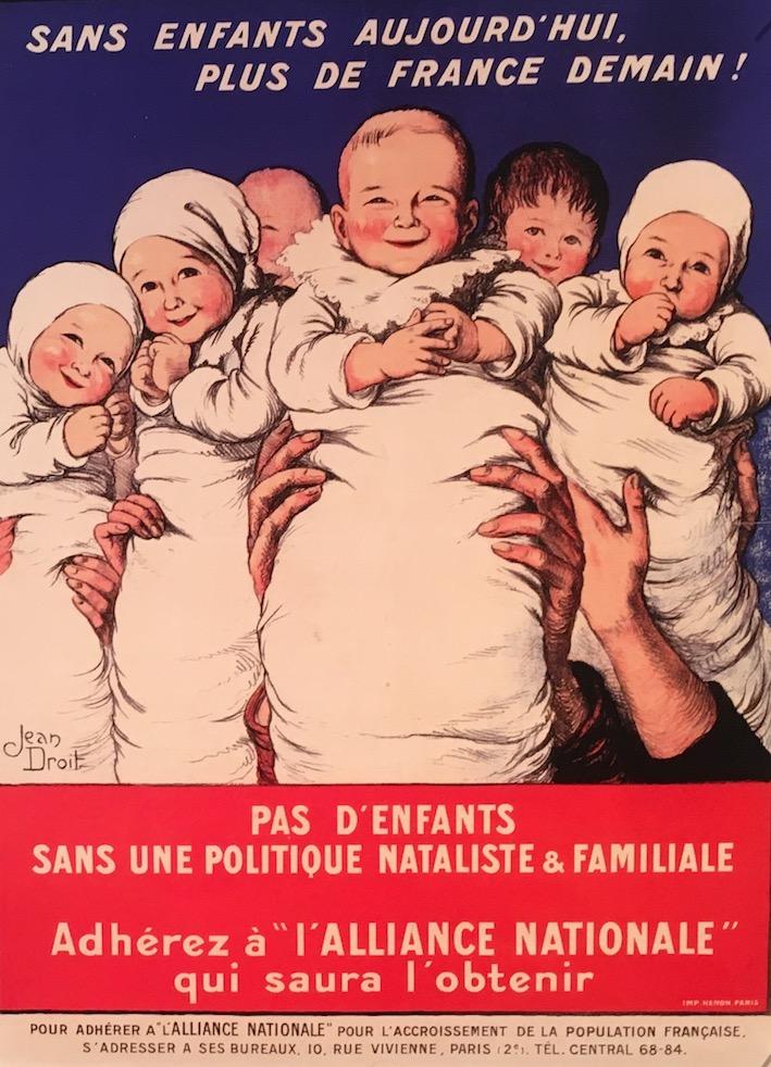 Politique nataliste en France.