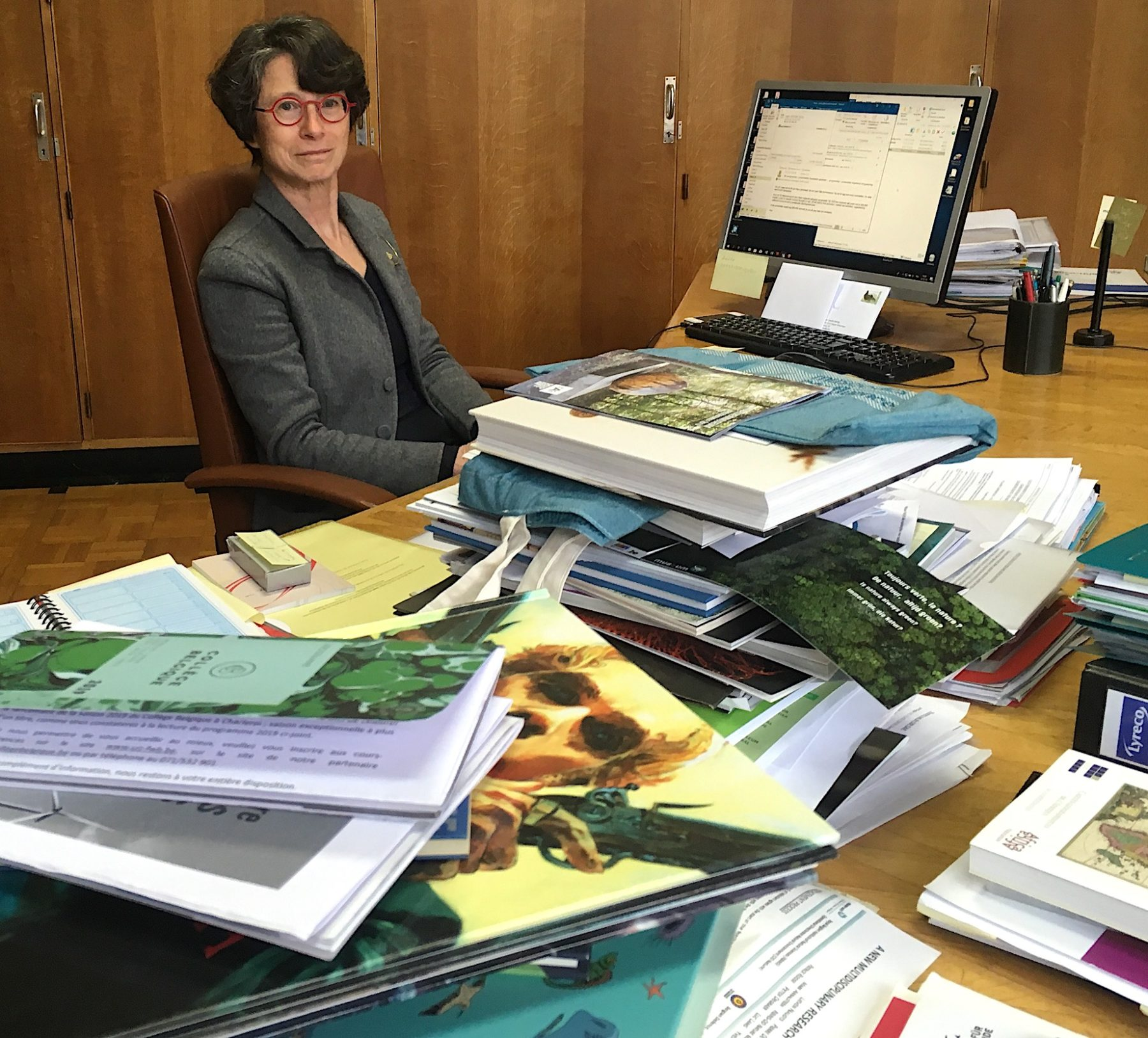 Camille Pisani, Directrice générale de l'Institut royal des Sciences naturelles de Belgique, partie à la retraite le 30 avril 2019 et remplacée par une directrice générale a.i. depuis cette date.