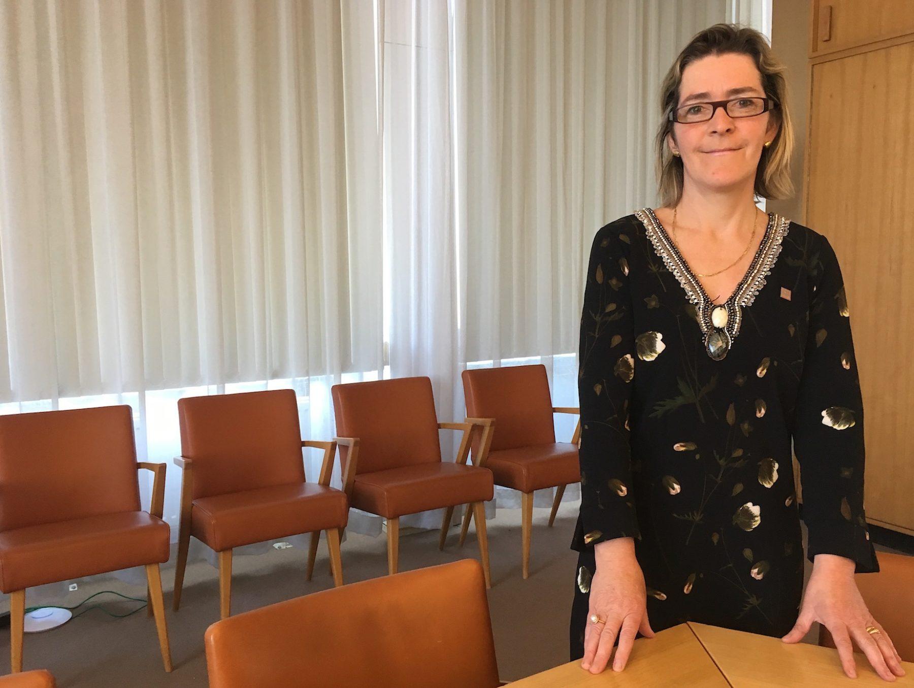 Hilde De Clercq, Directrice générale a.i. de l'Institut royal du Patrimoine artistique (IRPA).