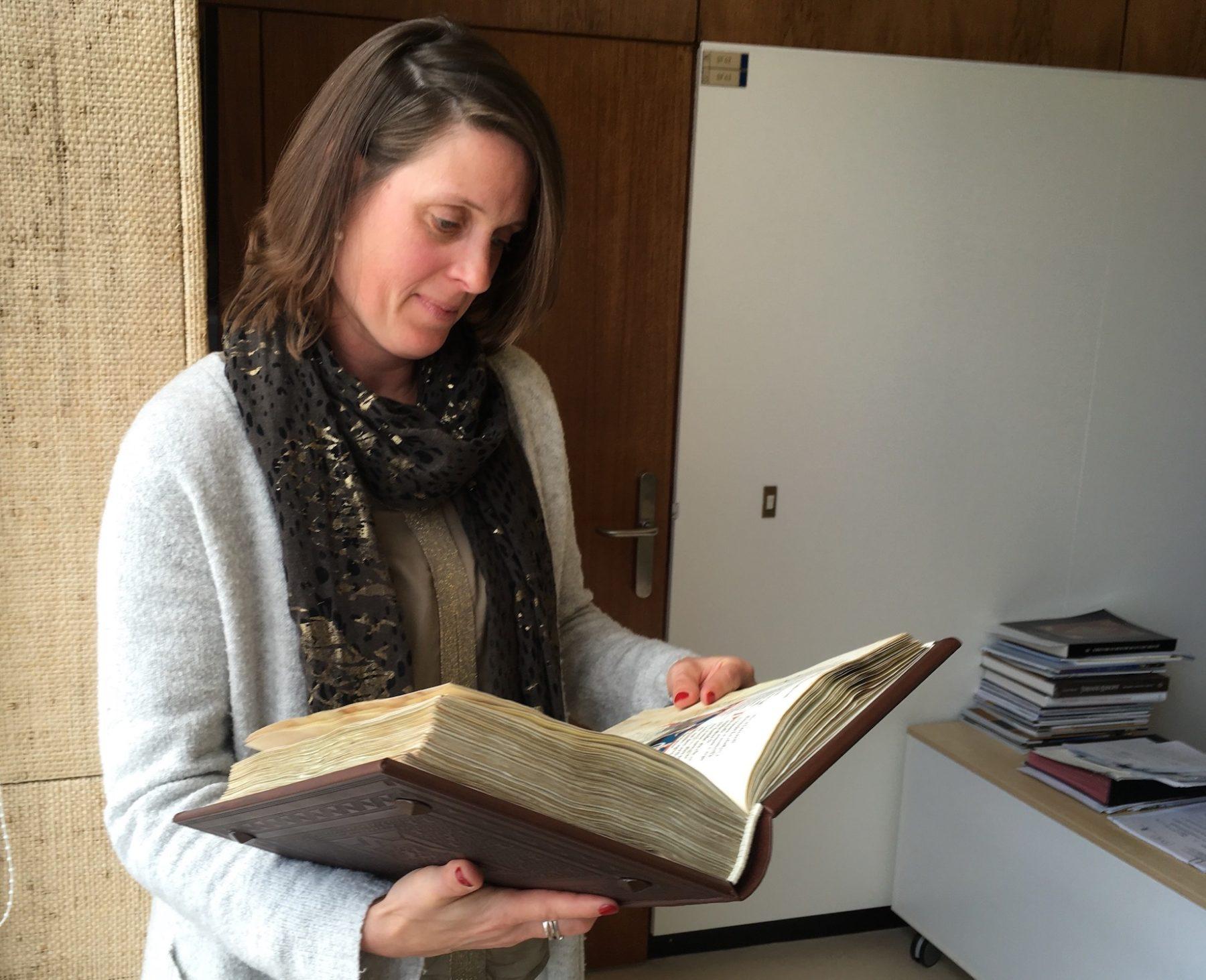Sara Lammens, Directrice générale a.i de la Bibliothèque royale de Belgique.