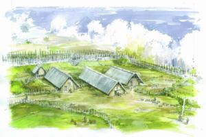 interprétation site neolithique c benoit claryns