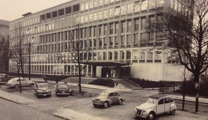 Le bâtiment de l'Irpa date de 1962
