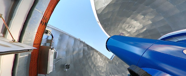 L'étude de l'ULB, publiée cette semaine dans Nature, a été réalisée grâce au spectrographe HERMES installé au télescope Mercator, de la KULeuven, aux Iles Canaries.