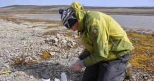 Bart Van de Vijver en 2009, lors d'une mission sur l'île Livingston (Shetland du Sud).
