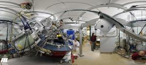 L'Institut Laue Langevin, où la théorie du Dr Sarrazin va être testée, dispose d'un quarantaine d'instruments dédiés à la neutronique. © ILL