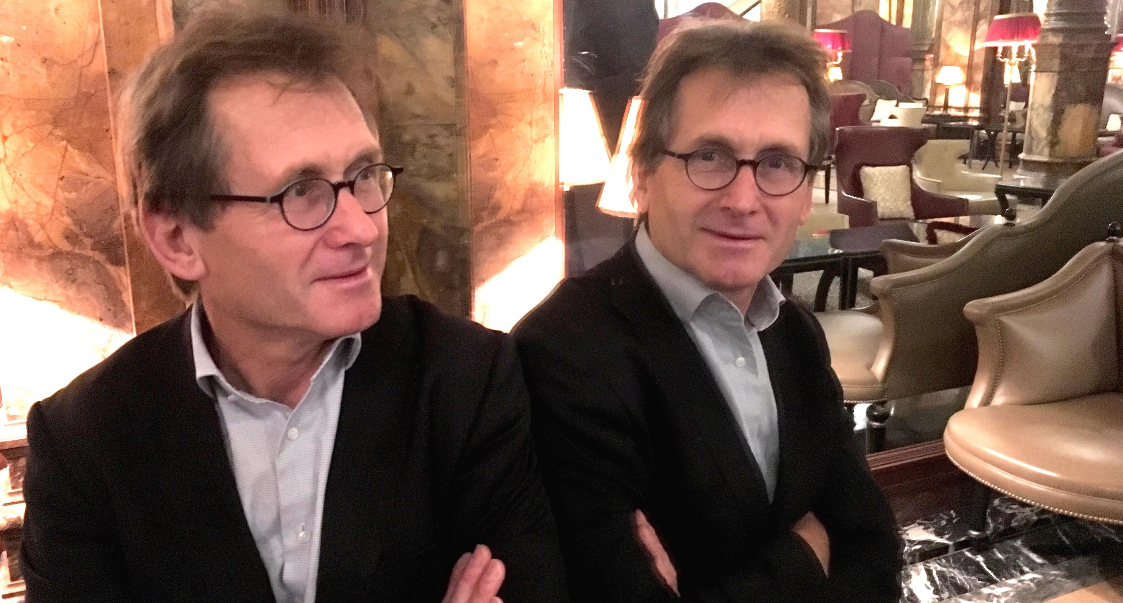 Le Pr Ben Feringa, à Bruxelles, trois semaines après l'annonce de son Prix Nobel de Chimie 2016.
