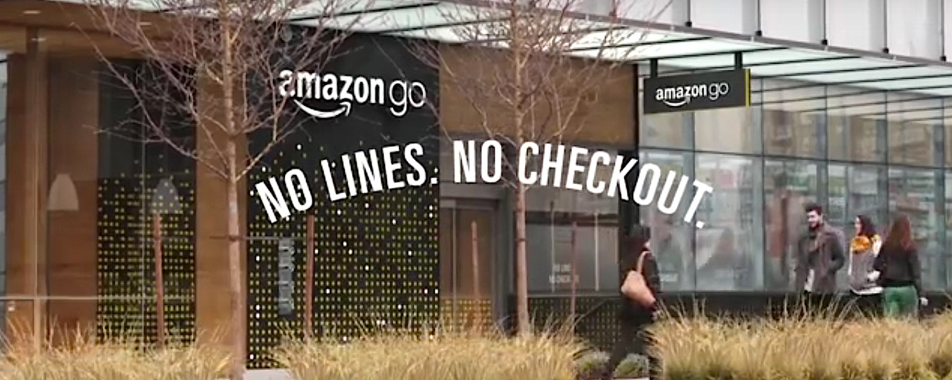 """Amazon go"", le magasin sans files, sans caisses et sans employés."