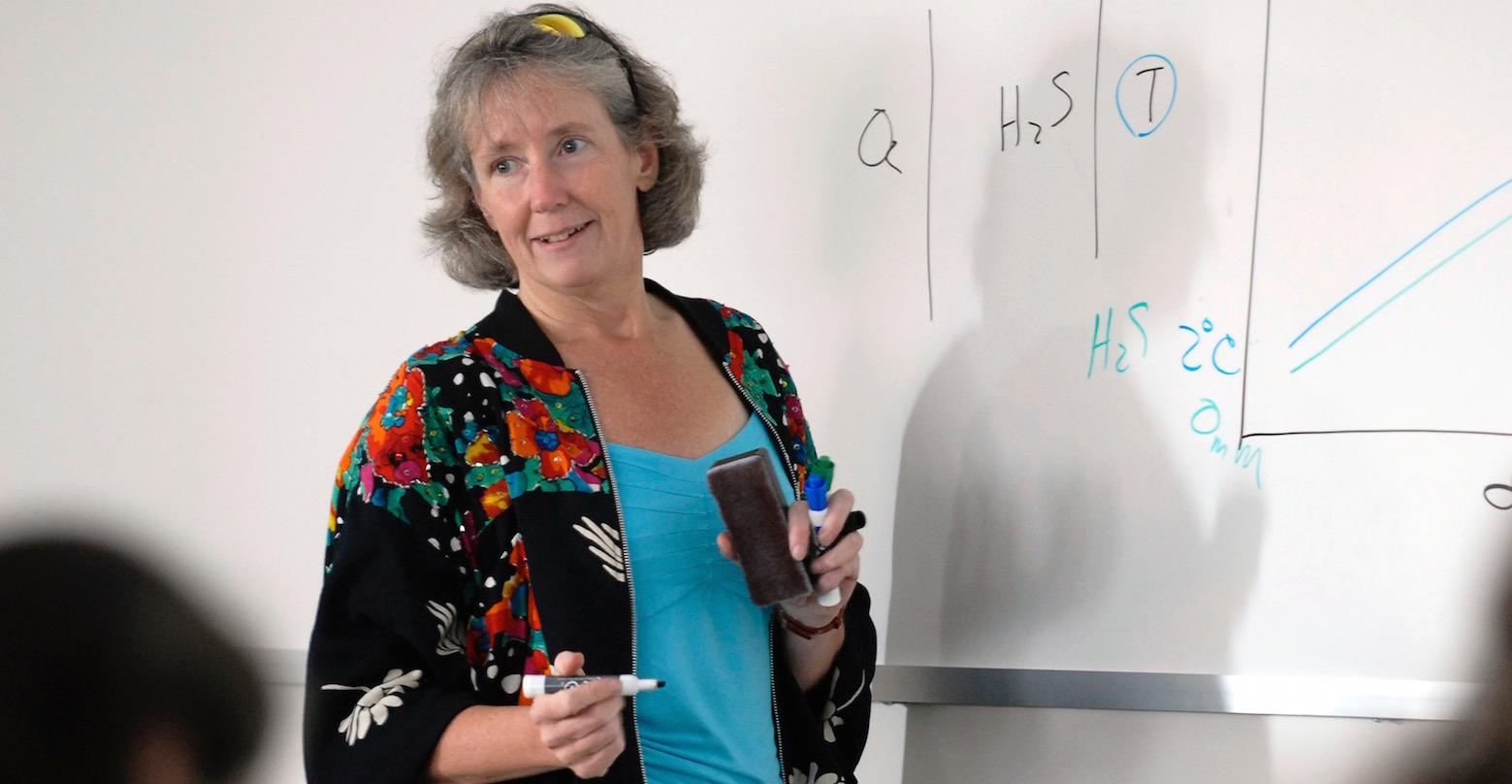 Pr Cindy Lee van Dover (Duke University), docteur honoris causa UCL 2017.
