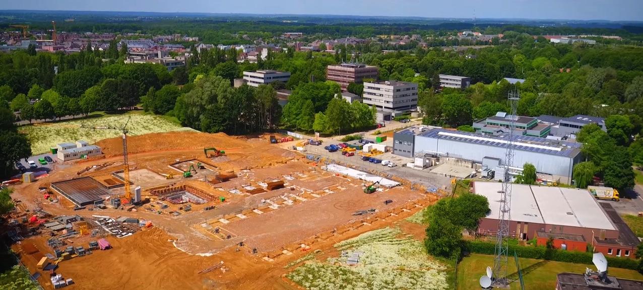 La nouvelle usine d'IBA, en Brabant Wallon, devrait être opérationnelle en 2018.