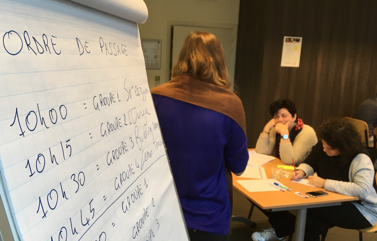 Coaching des équipes, Innovation Camp 2017.