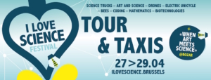 """Rendez-vous fin avril à Bruxelles pour le premier """"I Love Science Festival""""."""