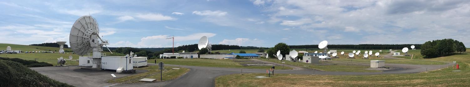 Le site de l'ESEC, à Redu, juillet 2018.
