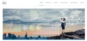 Homepage du projet EPOC.