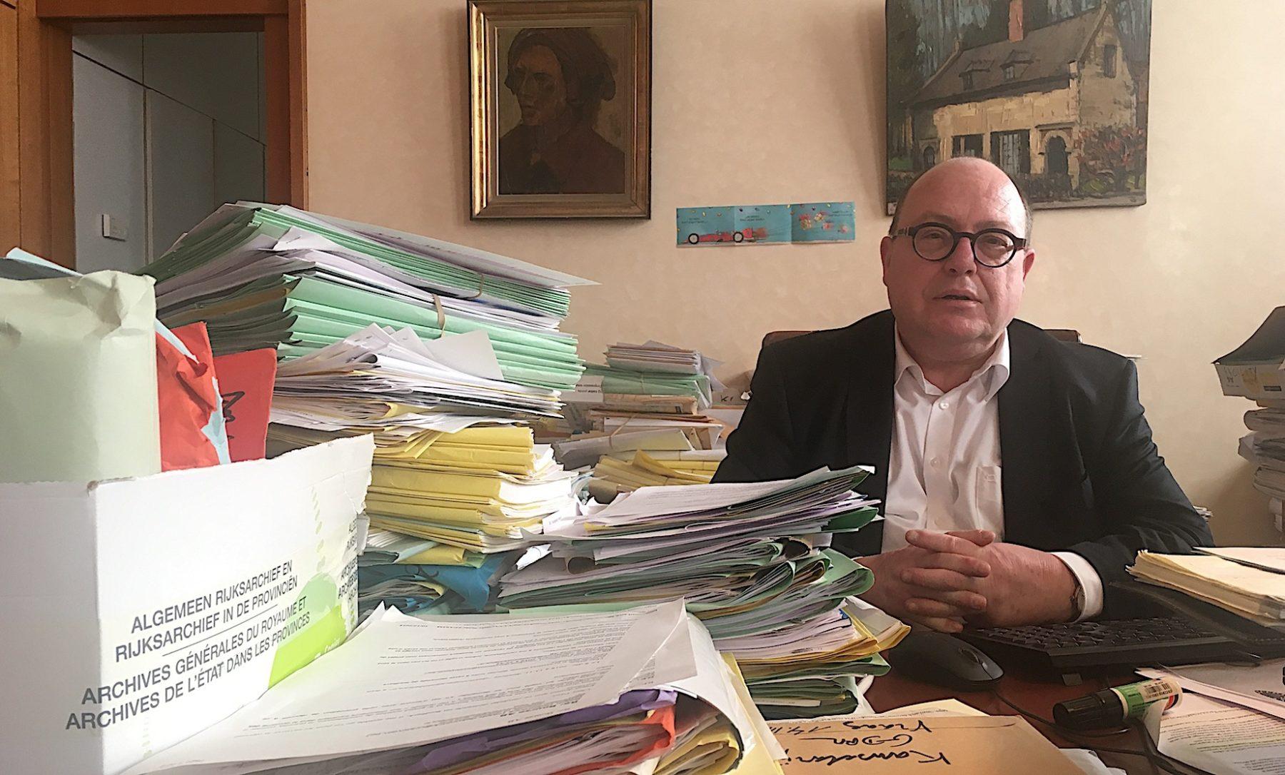 Karel Velle, Archiviste général du royaume.