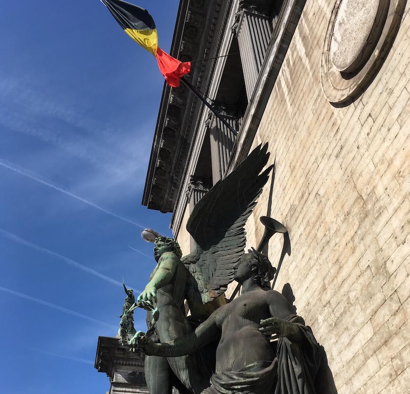 Façade des Musées royaux des Beaux-Arts de Belgique.