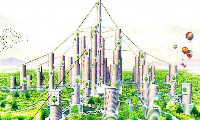 avenir des villes est vertical