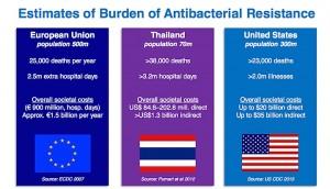 OMS: extrait du rapport 2014 sur la résistance aux antibiotiques dans le monde.