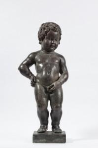 """Le """"véritable"""" Manneken Pis, étudié par Géraldine Patigny, est celui conservé au Musée de la Ville de Bruxelles. © KIK-IRPA, Bruxelles"""