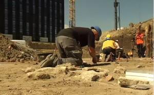 Fouilles archéologiques à Tour & Taxis