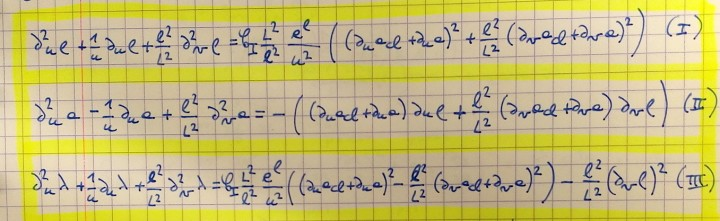 equations Fuzfa gravitation artificielle