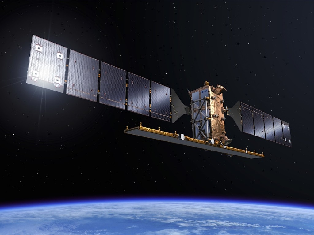 Sentinel 1. © ESA