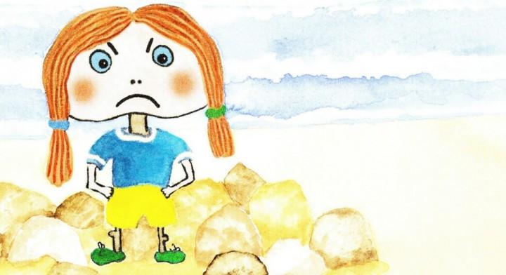 «L'histoire de Violaine qui détestait la gentillesse», illustrée par Nicky Armstrong