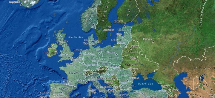 Pays membres de l'Otan en Europe, en 2016.