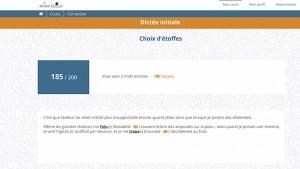 Saisie d'écran, logiciel de dictées Ortalia.