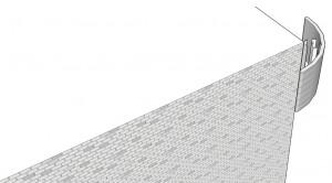 Module d'une éolienne urbaine d'angle / Gemini. (Cliquer pour agrandir)