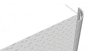 Schéma d'une éolienne verticale urbaine proposé par Gemini. (Cliquer pour agrandir)