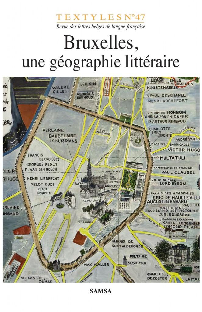Bruxelles, une géographie littéraire