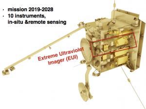 Solar Orbiter et l'instrument EUI. © ORB (Cliquer pour agrandir)