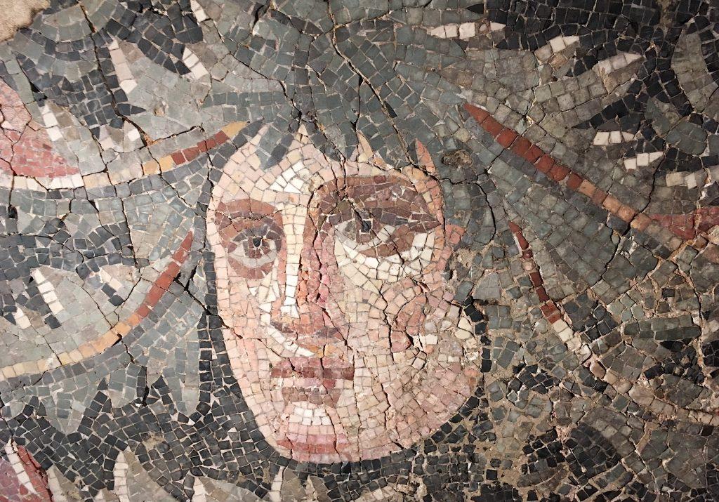 Mosaïque romaine.